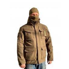 Куртка милитари м65 олива под пистолет с Velcro Soft Shell