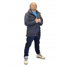 Куртка милитари м65 темно-синяя под пистолет Soft Shell