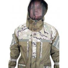 Куртка тактическая палатка мультикам Зима