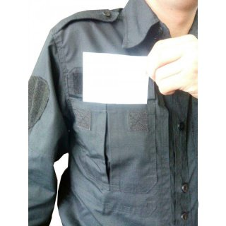 Рубашка рип стоп темно-синяя/черная
