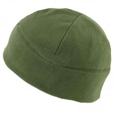 Флисовая шапка олива 1 слой