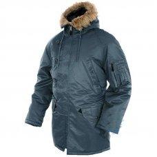 Куртка Аляска синяя N3B