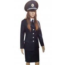 Парадная форма полиции женская