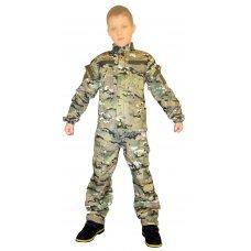 Детский камуфляж мультикам (оригинал взрослой формы Нато)