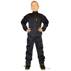 Детская черная форма спецназа (оригинал взрослой формы Нато)