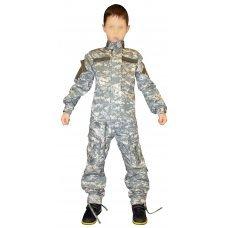 Детский камуфляж ACU (оригинал взрослой формы США)