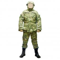 Зимний камуфляжный костюм, бушлат и штаны Мультикам -20 C