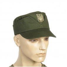 Кепка армейская мазепинка с гербом олива
