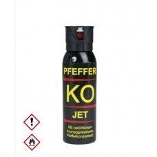 Газовый баллончик струйный Pepper KO Jet 100 мл Германия