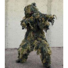 Маскхалат GHILLIE SUIT ANTI FIRE 4PC.W/L