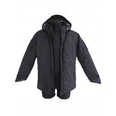 Куртка мембрана зимняя Секьюрити чёрный Pancer