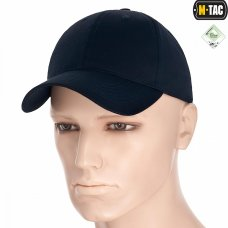 Бейсболка M-Tac Flex ріп-стоп Dark Navy Blue