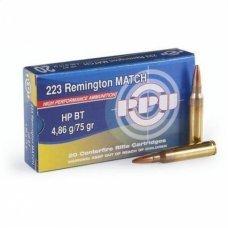 Патрон 223 калибр Rem HPBT 4.86g