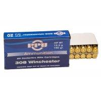 Патрон 308 калибр Win HPBT 12.3 g пачка