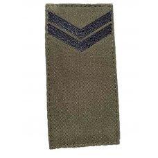 Погоны ВСУ младший сержант нового образца 2020 олива
