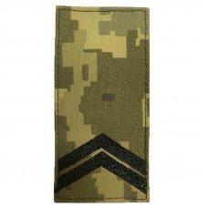 Погоны ВСУ младший сержант нового образца 2020 ММ-14