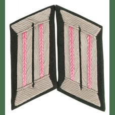 Вкладки для воротника розовые