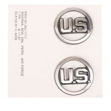 Значок на шею США (ПАРА) AIRFORCE EM SILVER