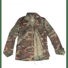 Куртка с теплой подстежкой М65 woodland