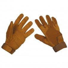 Перчатки тактические, кожа амара, MFH Stripes