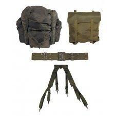 Набор рюкзаков: рюкзак на 65 л с лямками, рюкзак полевой, оригинал армии Австрии, б/у