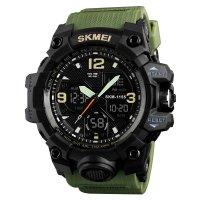 Часы Skmei 1155B Green Black