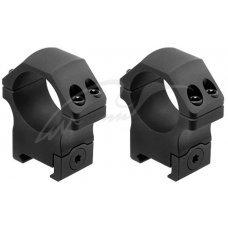 Кольца Leapers UTG PRO P.O.I. Диаметр - 30 мм. Medium (среднее). На планку Picatinny