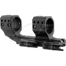 Быстросъемное крепление-моноблок Spuhr QDP-4016 с выносом. Диаметр - 34 мм. Высота основания - 21 мм. Длина - 151 мм. На планку Picatinny