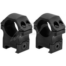 Кольца Leapers UTG PRO P.O.I. Диаметр - 25.4 мм. Medium (среднее). На планку Weaver/Picatinny