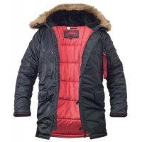 Куртка мужская Аляска Slim Fit N-3B Black