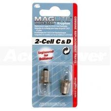Запасные лампочки (к-кт 2шт) для 2С или 2D