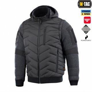 M-Tac куртка-жилет Konung Black/Grey