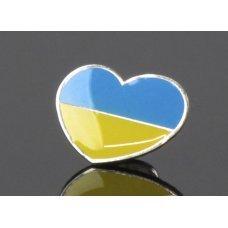 Значок Україна в серці