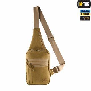 M-Tac сумка-кобура наплечная Elite Gen.IV Coyote