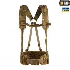 M-Tac пояс тактический с плечевыми ремнями Scout Gen.2 MC